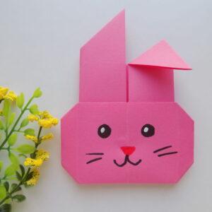 Модульное оригами схема зайца