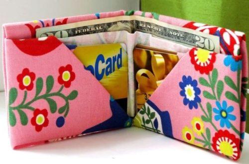 оригами кошелек из бумаги для детей