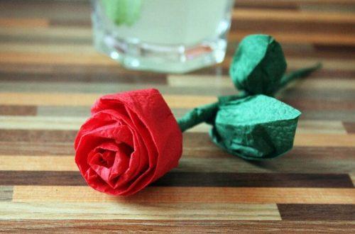 Роза из бумаги своими руками: пошаговая инструкция