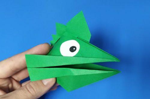 Подвижные игрушки из бумаги своими руками