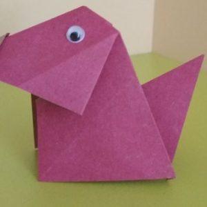 Оригами собачка: пошаговая инструкция